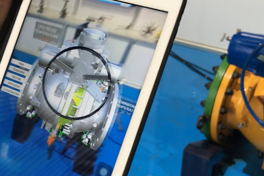 Augmented Reality Valves